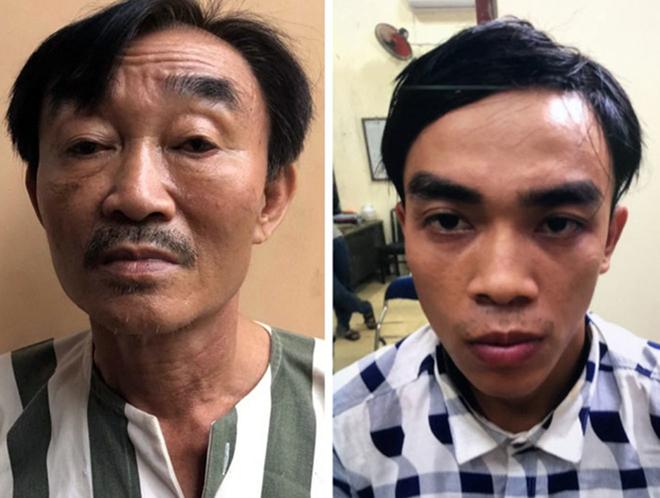 Hai cha con Nguyễn Khanh và Nguyễn Tấn Thành bị bắt giữ.