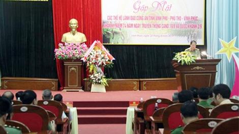 Gặp mặt các thế hệ lãnh đạo Công an tỉnh Vĩnh Phú-Phú Thọ-Vĩnh Phúc