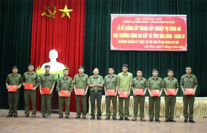 Bế giảng lớp Trung cấp nghiệp vụ Công an cho Trưởng Công an cấp xã - Ảnh minh hoạ 2