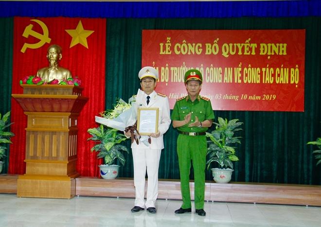 Điều động Giám đốc Công an TP Hải Phòng và tỉnh Hải Dương