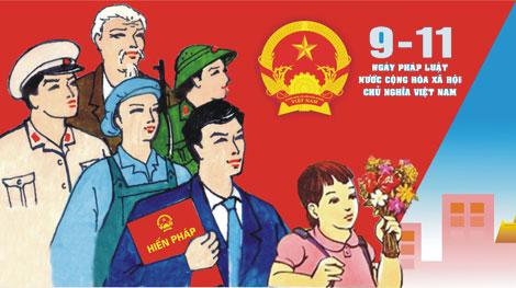 Lực lượng Công an nhân dân tích cực hưởng ứng Ngày Pháp luật Việt Nam