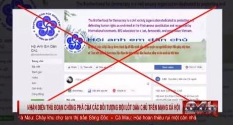 Thủ đoạn giả danh trang điện tử phát tán thông tin chống phá Việt Nam