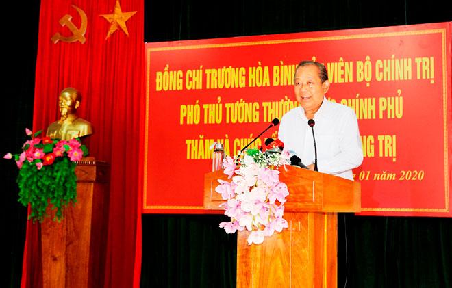 Phó Thủ tướng Thường trực tặng quà Tết đồng bào nghèo Quảng Trị - Ảnh minh hoạ 2