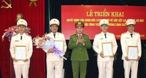 Công an Hà Nội hợp nhất và thành lập 3 đội công tác thuộc Phòng CSHS