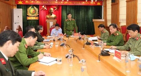 Thứ trưởng Nguyễn Duy Ngọc kiểm tra công tác tại Công an tỉnh Hưng Yên
