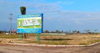 Yêu cầu nhà đầu tư hoàn thành các dự án tại khu đô thị mới Điện Nam - Điện Ngọc