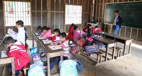 Khánh thành điểm trường cho trẻ vùng cao ở Hà Giang