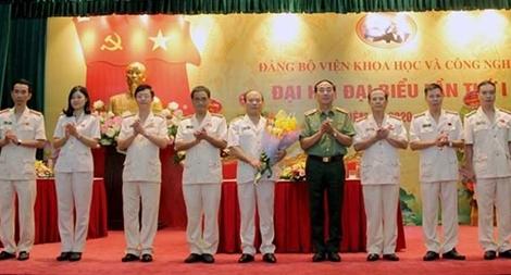 Thiếu tướng Lê Minh Quý tái đắc cử Bí thư Đảng ủy Viện KH&CN