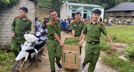 """Sôi nổi chiến dịch """"Hành quân xanh"""" năm 2020 của Công an Lai Châu"""