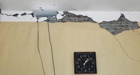 Lực lượng Công an khẩn trương kiểm tra, khắc phục hậu quả động đất