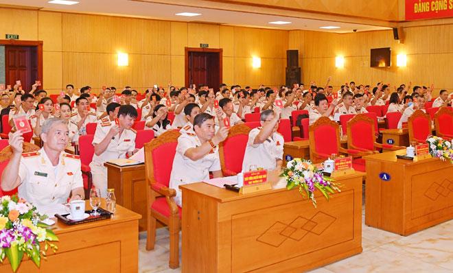 Nâng cao sức chiến đấu của tổ chức Đảng, đáp ứng yêu cầu, nhiệm vụ công tác tham mưu trong tình hình mới