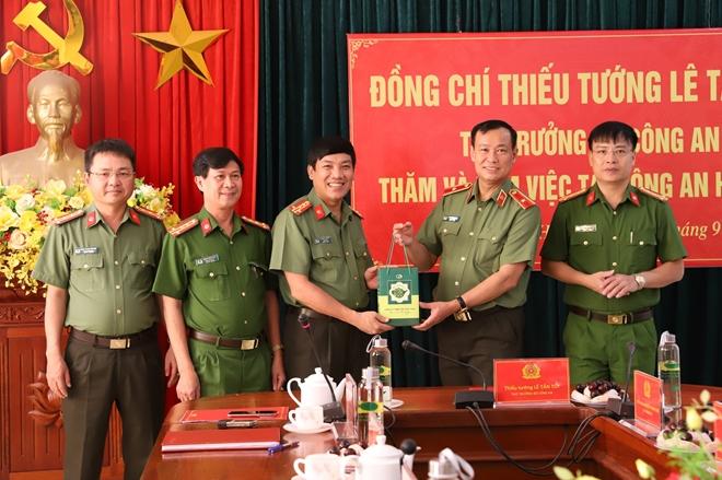 Thứ trưởng Lê Tấn Tới làm việc tại Công an tỉnh Hà Tĩnh - Ảnh minh hoạ 2