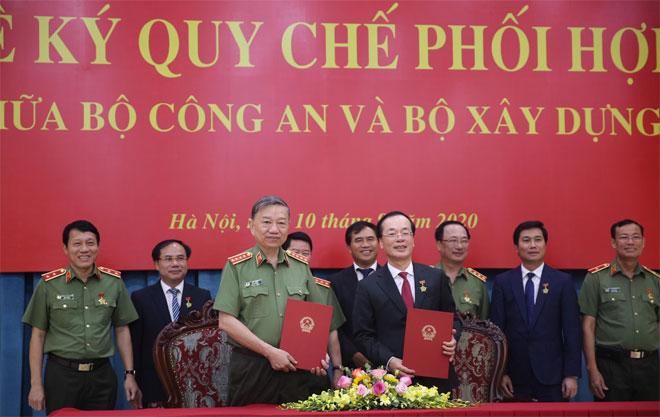 Bộ Công an và Bộ Xây dựng tăng cường phối hợp công tác - Ảnh minh hoạ 5