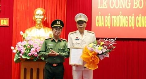 Công an tỉnh Yên Bái có tân Phó Giám đốc