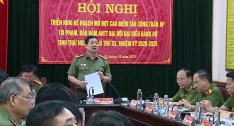 Bảo đảm ANTT Đại hội đại biểu Đảng bộ tỉnh Thái Nguyên lần thứ XX