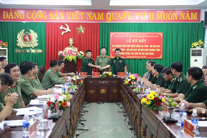 Đắk Nông phối hợp các đơn vị bảo vệ tuyệt đối an toàn Đại hội Đảng
