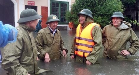 Đảm bảo tuyệt đối an toàn cho can, phạm nhân mùa mưa bão