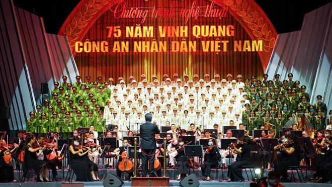 Hoạt động Văn hóa - Nghệ thuật đặc biệt Kỷ niệm 75 năm Ngày truyền thống CAND Việt Nam - Ảnh minh hoạ 3