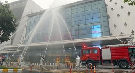 Nâng cao chữa cháy, cứu nạn tại Trung tâm thương mại