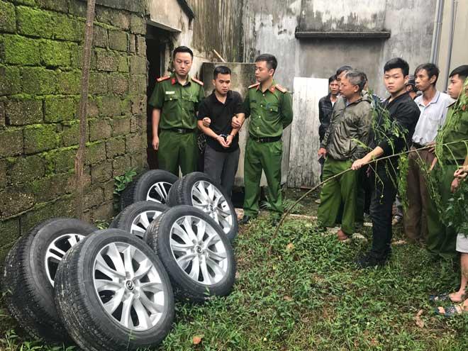 Giải mã những vụ trộm bánh xe ô tô ở Nghệ An