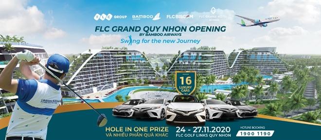 Hình ảnh: 16 xe sang chờ đón golfer trong giải đấu mừng khánh thành khách sạn FLC Grand Hotel Quy Nhon số 1