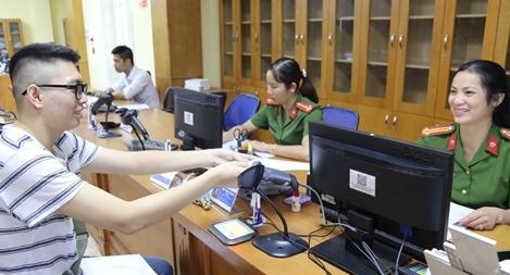 Công an Vĩnh Phúc lập 5 điểm kiểm tra dữ liệu dân cư