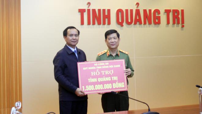 Thứ trưởng Nguyễn Văn Sơn kiểm tra công tác khắc phục hậu quả bão số 13 - Ảnh minh hoạ 3