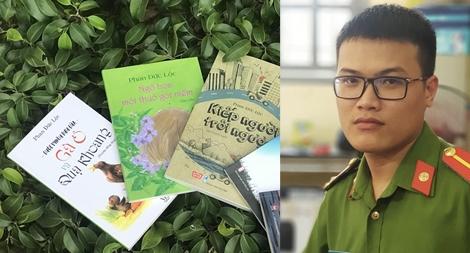 Trung úy - nhà văn Phan Đức Lộc: Trót đam mê văn chương