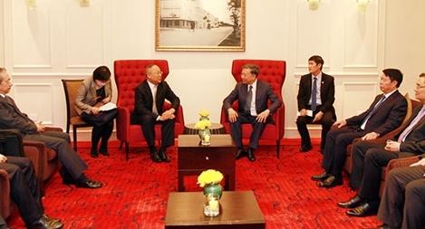 Bộ trưởng Tô Lâm tiếp Thứ trưởng Bộ An ninh Quốc gia Trung Quốc