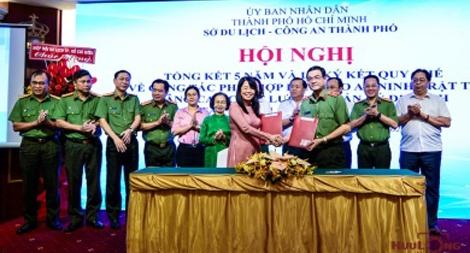 Công an TP Hồ Chí Minh tăng cường đảm bảo an ninh du lịch