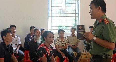 Phát huy vai trò của Chi bộ Công an xã, thị trấn ở Mường La