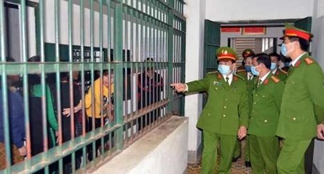 Tăng cường công tác phòng chống dịch COVID-19 tại trại tam giam