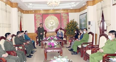 Lãnh đạo tỉnh Hà Nam chúc Tết lực lượng Công an tỉnh