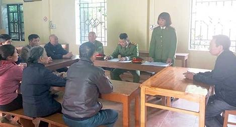 Nữ Trưởng Công an xã nỗ lực vì bình yên cuộc sống của nhân dân