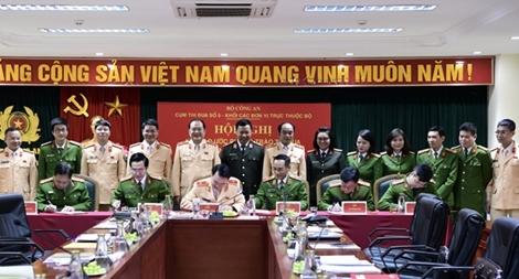 Cụm thi đua số 5 khối các đơn vị trực thuộc Bộ ký giao ước thi đua năm 2021