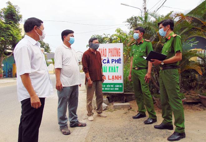 Công an xã chính quy góp phần xây dựng nông thôn mới