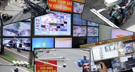 Camera an ninh giúp lực lượng Công an kiểm soát địa bàn