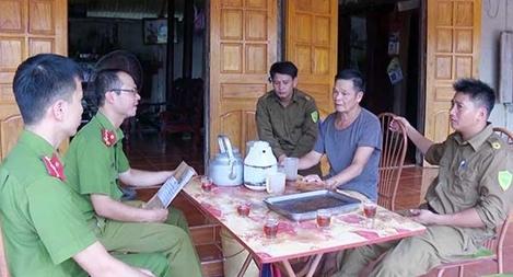 Hiệu quả từ việc bố trí Công an chính quy về xã ở Phú Thọ
