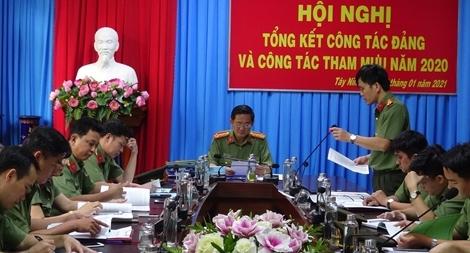 Phòng Tham mưu, Công an tỉnh Tây Ninh sáng tạo, ứng dụng khoa học kỹ thuật trong công tác