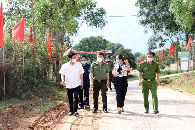 Đảm bảo ANTT ngày hội bầu cử tại Sơn La - Ảnh minh hoạ 2