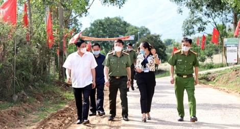 Đảm bảo ANTT ngày hội bầu cử tại Sơn La