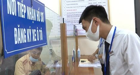 Công an tỉnh Phú Thọ khảo sát sự hài lòng của người dân đối với sự phục vụ CSGT