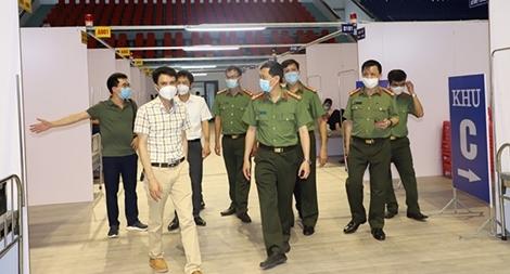 Bệnh viện Dã chiến số 2 tại Bắc Giang do y tế CAND đảm trách đã sẵn sàng