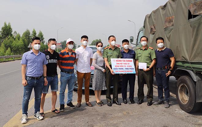 Tiếp nhận ủng hộ các y, bác sĩ CAND tại Bệnh viện Dã chiến số 2 Bắc Giang chống dịch - Ảnh minh hoạ 2