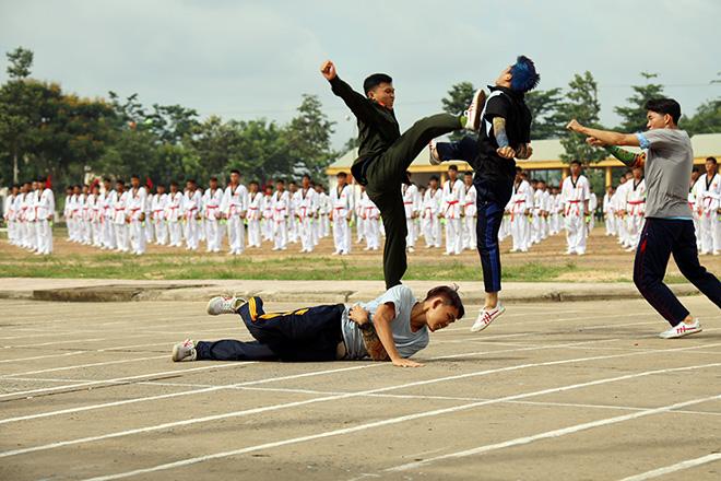 Bế giảng khóa huấn luyện chiến sỹ nghĩa vụ tham gia CAND - Ảnh minh hoạ 2