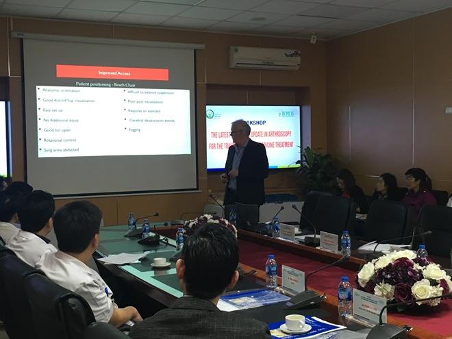 Bệnh viện Việt Đức triển khai kỹ thuật nội soi khớp hiện đại