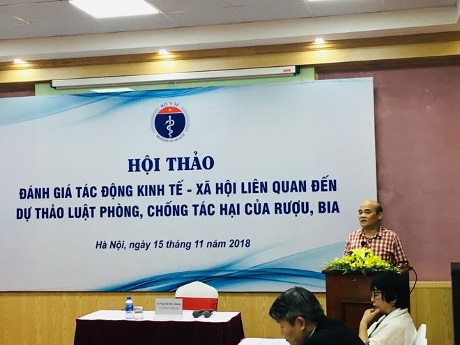 Ts Nguyễn Huy Quang, Vụ trưởng Vụ Pháp chế Bộ Y tế