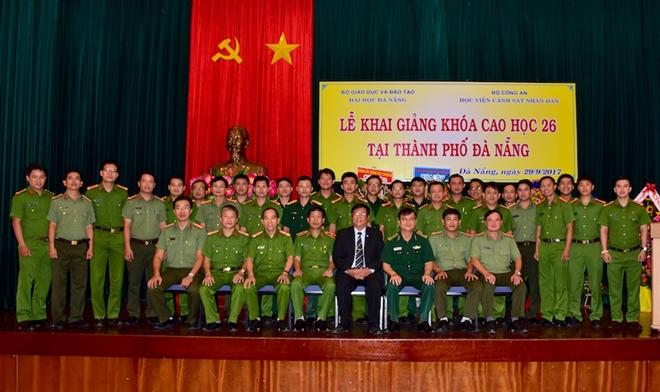 Học viện CSND khai giảng lớp Cao học Luật K26 tại Đà Nẵng