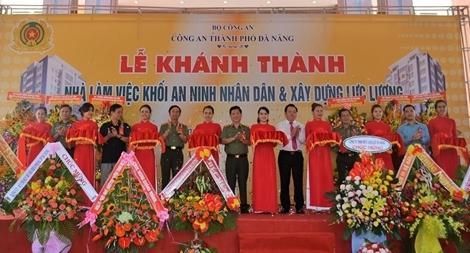 Công an Đà Nẵng đưa vào sử dụng nhà làm việc khối ANND và XDLL