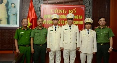 Công an TP Đà Nẵng điều động, bổ nhiệm cán bộ